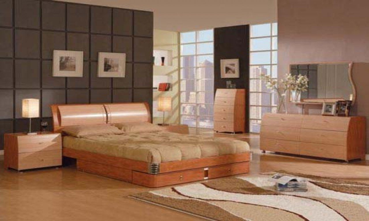 Best Farnichar Design Bed Natural Wood Bedroom Furniture Sets With Pictures