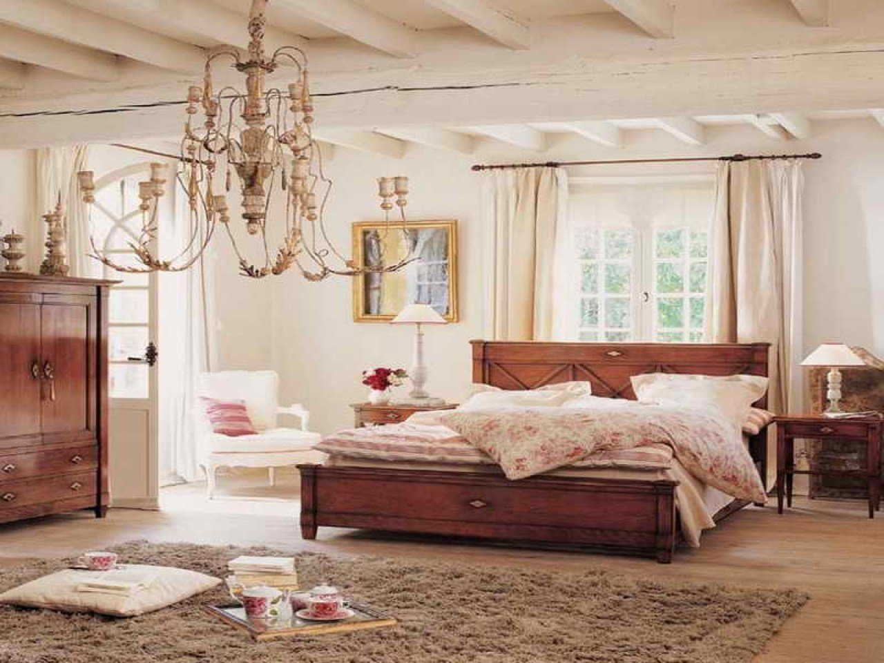 Best Lodge Bedroom Ideas Country Style Bedrooms Decorating With Pictures