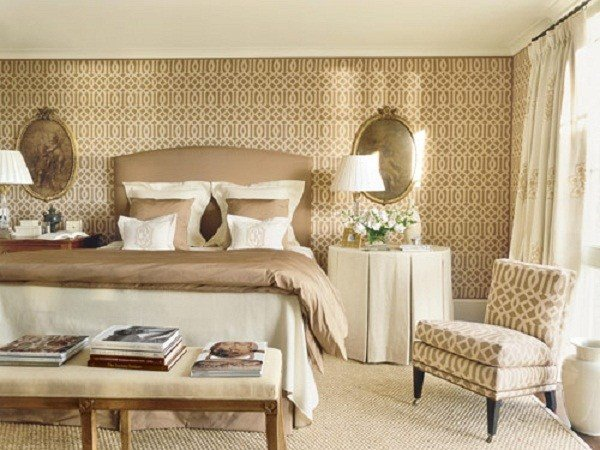 Best Wallpaper Ideas For Bedrooms 2017 Grasscloth Wallpaper With Pictures