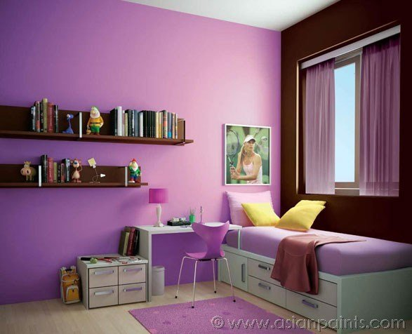 Best Asian Paints Interior Colour Combinations For Living Room With Pictures