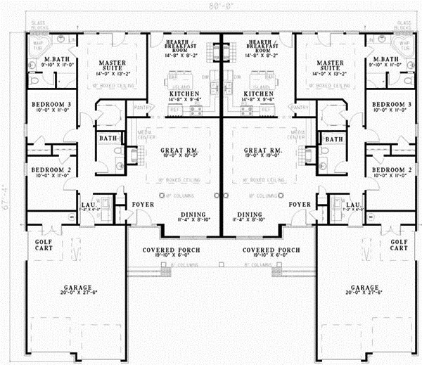 Best Traditional Style House Plans 3162 Square Foot Home 1 Story 6 Bedroom And 4 3 Bath 4 Garage With Pictures