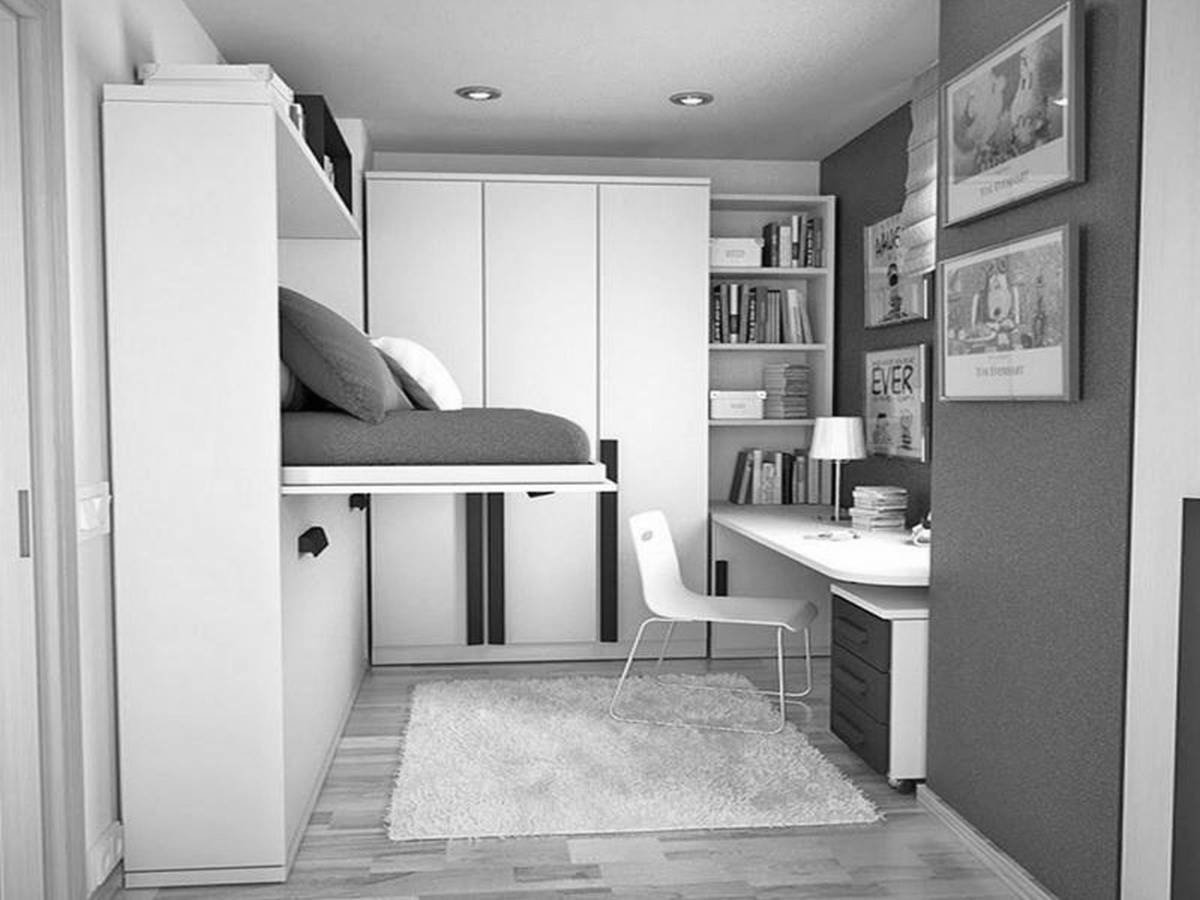 Best 25 Tips For Designing Small Sized Bedrooms Got Bigger With With Pictures
