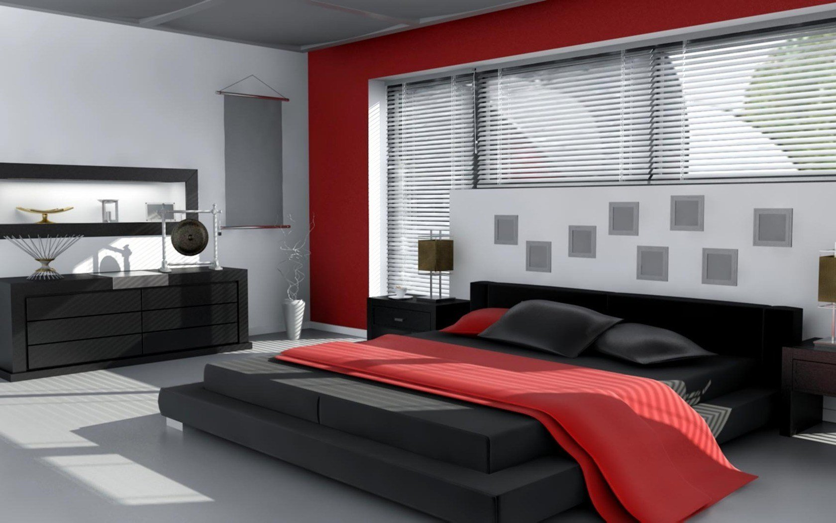 Best Black Bedroom Ideas Red Black And White Girl Red White With Pictures