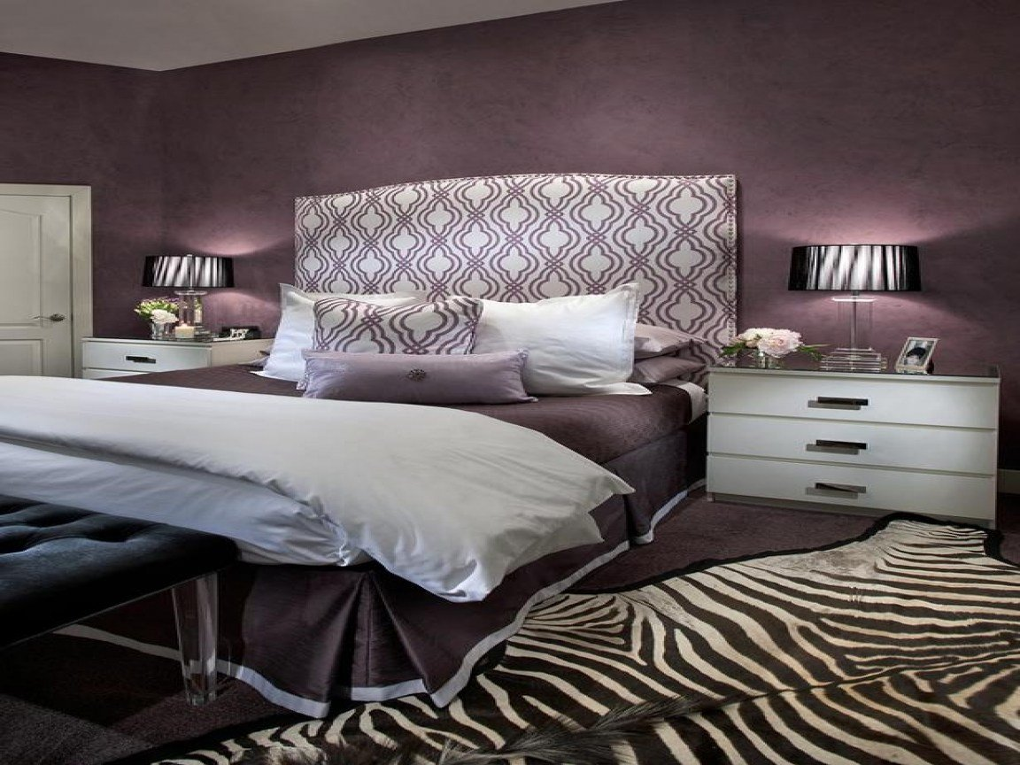 Best Purple And Gray Bedroom Purple Master Bedroom With Pictures