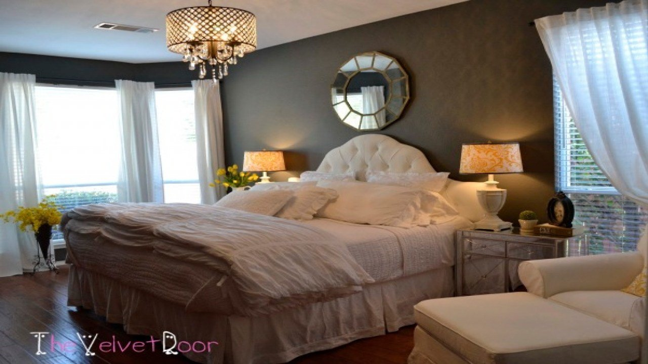 Best Chandeliers For Bedrooms Ideas Rustic Master Bedroom With Pictures
