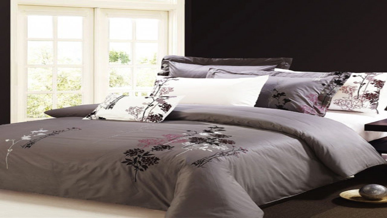 Best Grey Purple Bedroom Purple And Gray Comforter Lavender With Pictures