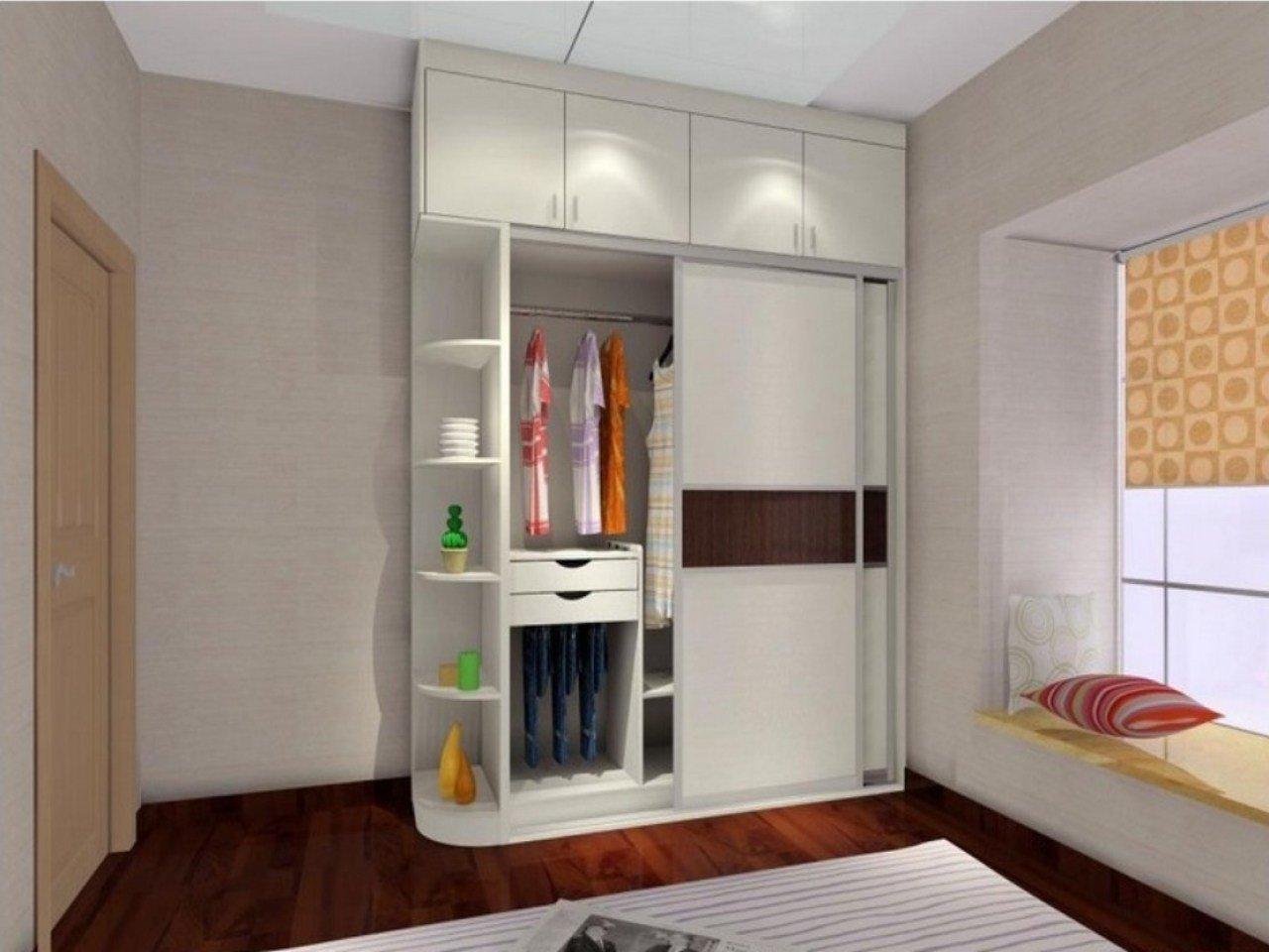 Best Bedroom Wall Cabinet Cabinets For Bedroom Wall Unit With Pictures