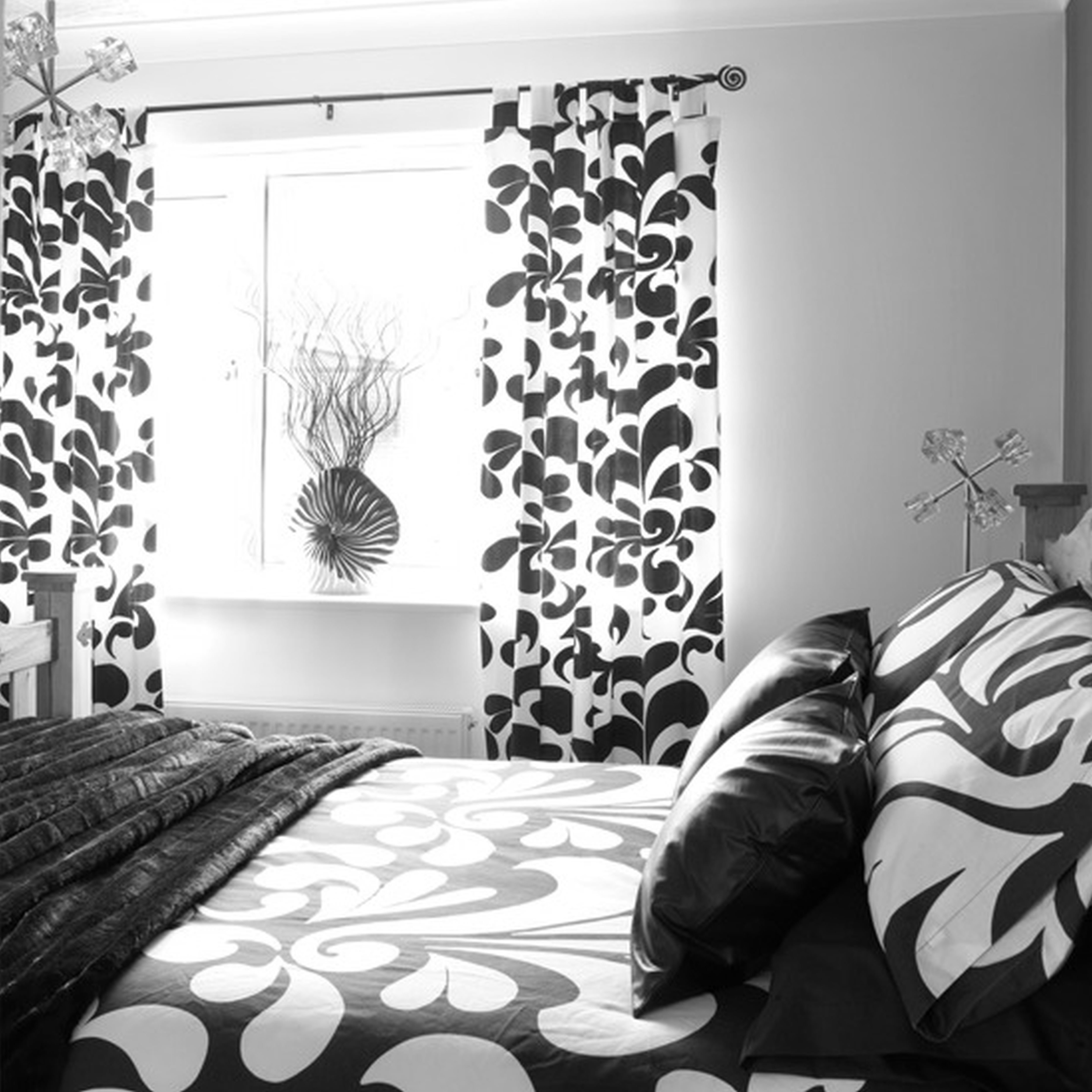 Best Simply Amazing Black And White Curtains To Decorate Your With Pictures