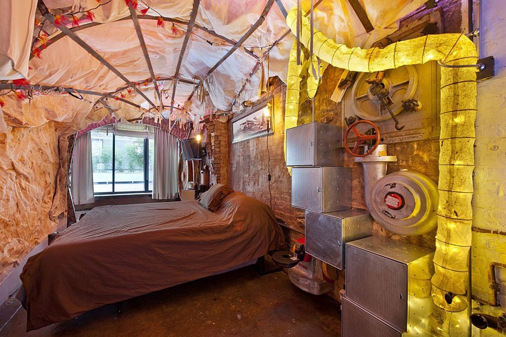 Best Retro Futuristic Steampunk Loft Apartment In New York With Pictures