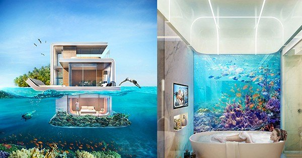 Best Floating Villa With An Underwater Bedroom Pictures Photos With Pictures