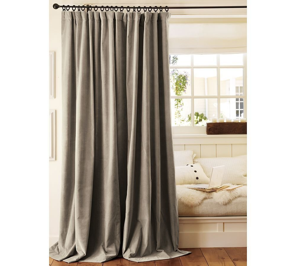 Best Two Pottery Barn Velvet Drapes Curtains Panels Drapery With Pictures