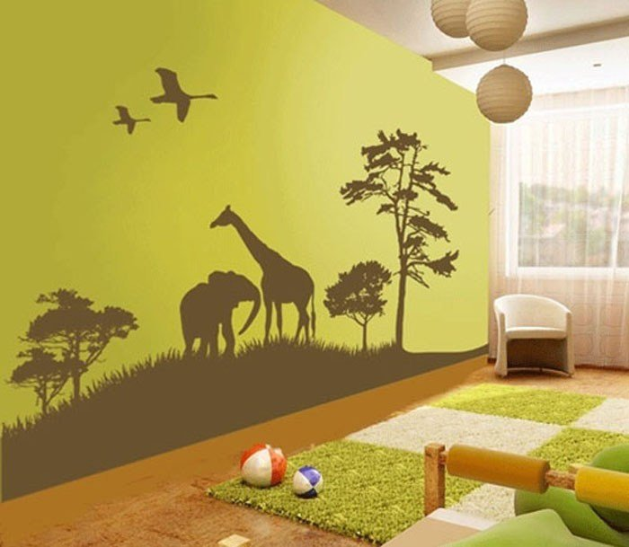 Best Wall Decal Decorating Ideas For Children's Rooms My New With Pictures