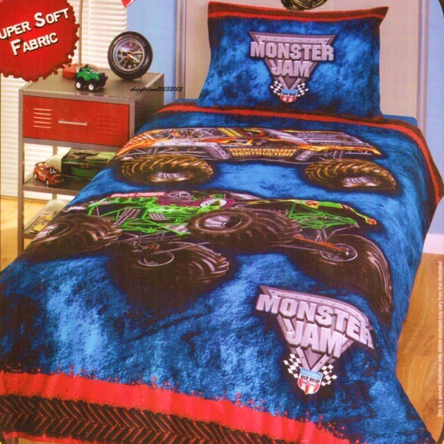 Best Monster Jam Bedding Archives Unique Novelty Gifts With Pictures