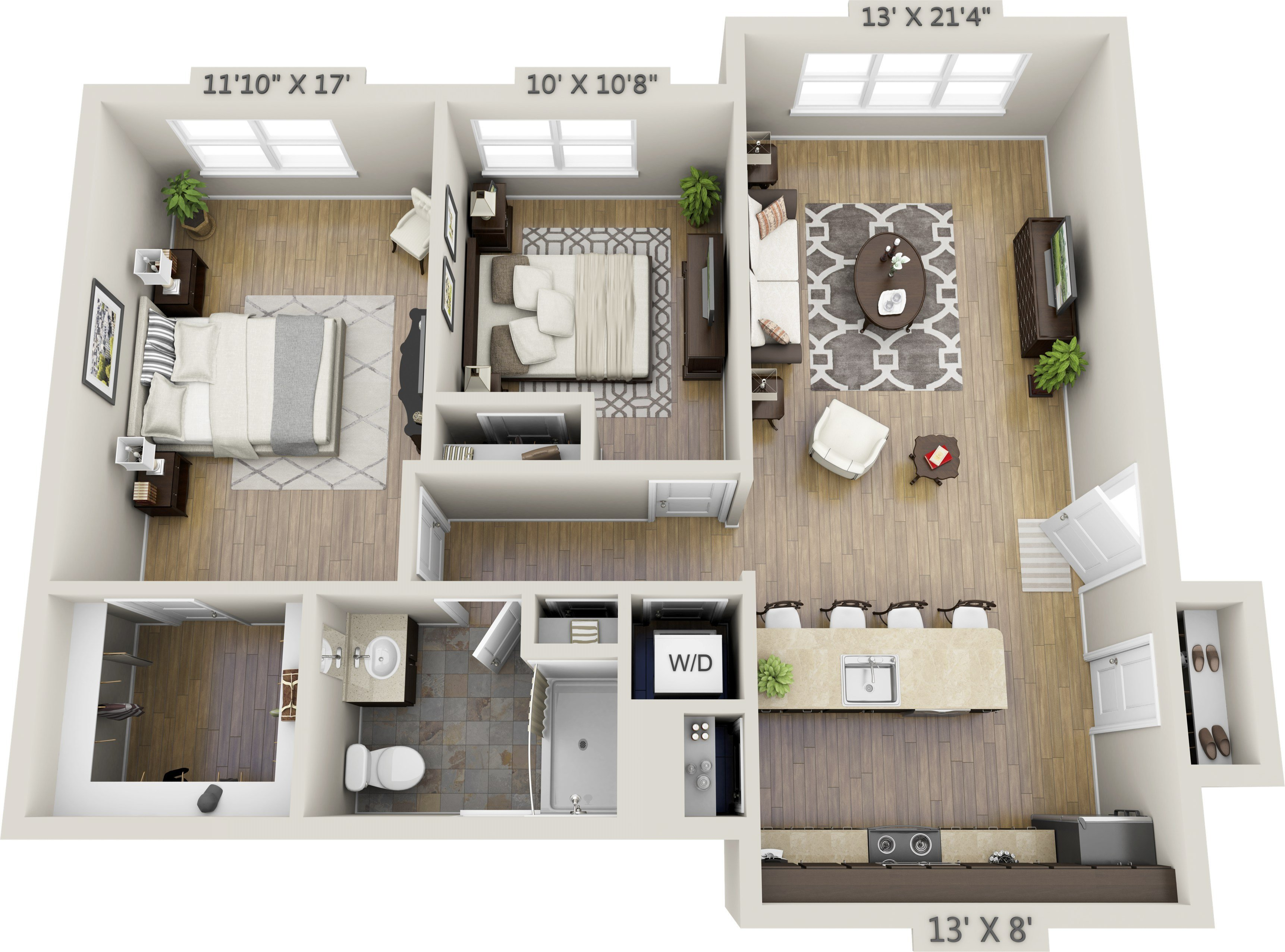 Best Two Bedroom Apartments Net Zero Village With Pictures