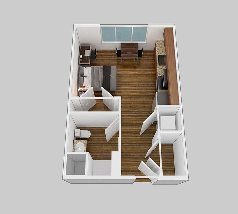 Best 1 Bedroom Studio Park Place Columbia With Pictures