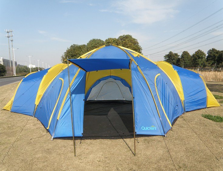 Best 6 8 Man 4 Room Dome Family Camping Tents Quictent With Pictures