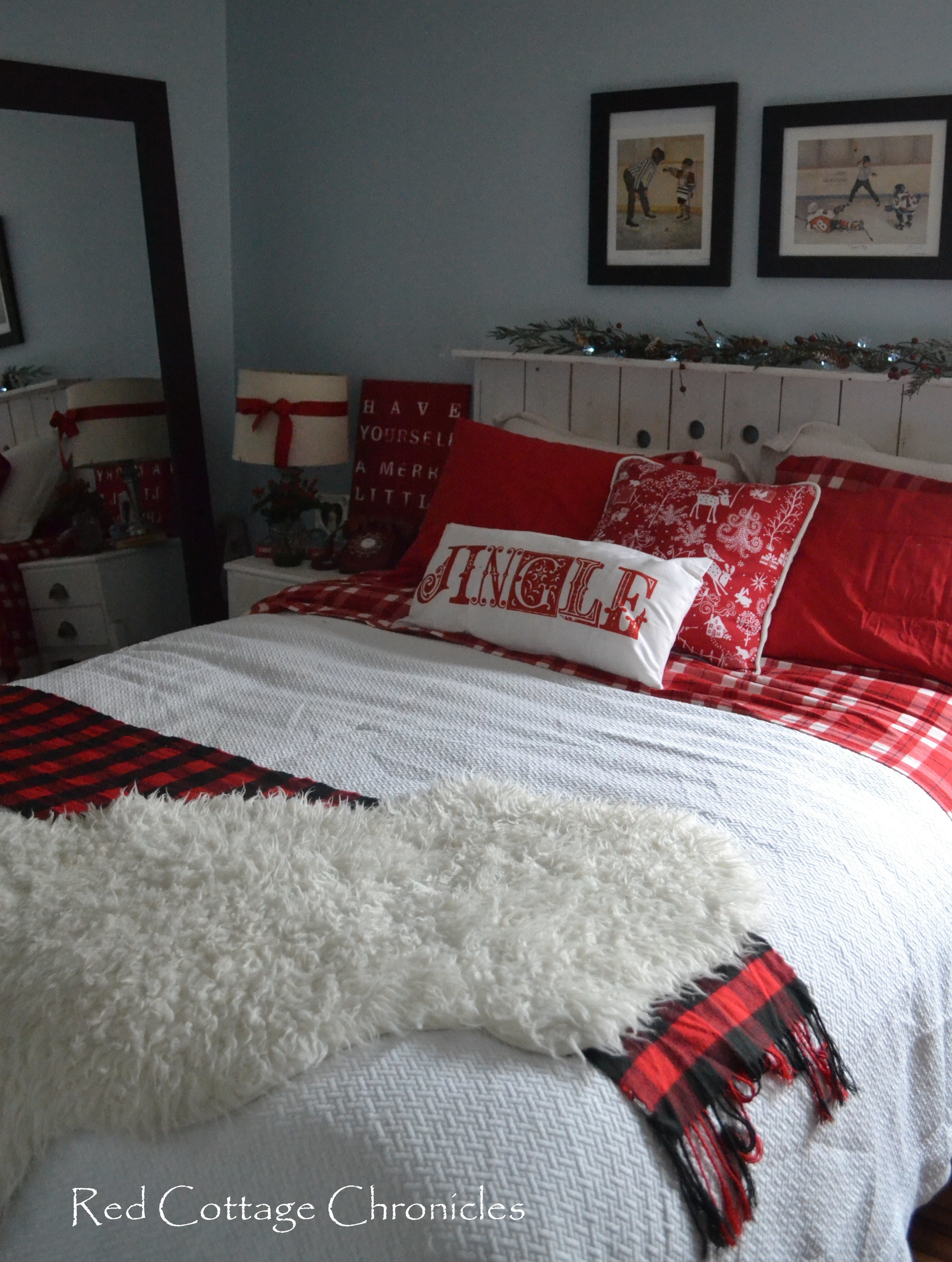 Best Our Christmas Bedroom Red Cottage Chronicles With Pictures