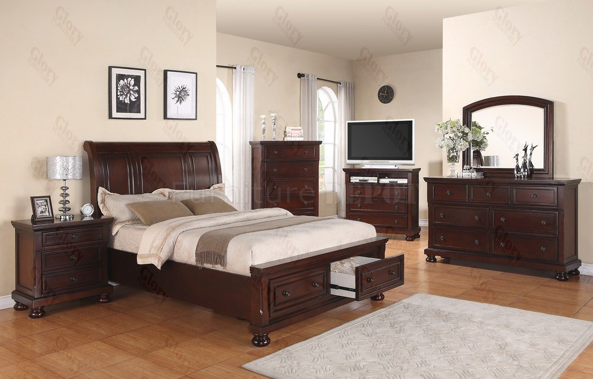 Best 6 Piece King Bedroom Set Home Furniture Design With Pictures
