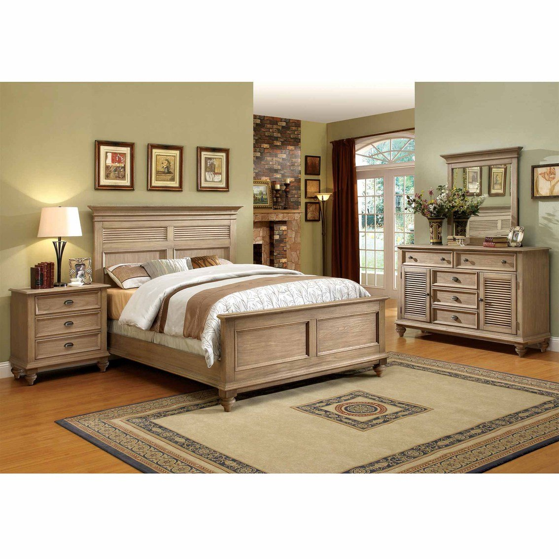 Best Riverside Coventry Shutter 4 Pc Bedroom Set Bedroom With Pictures