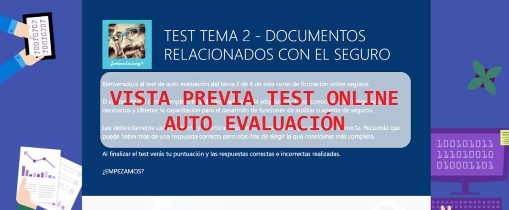 VISTA PREVIA TEST DOCUMENTOS RELACIONADOS SEGURO FORMATO MICROSOFT
