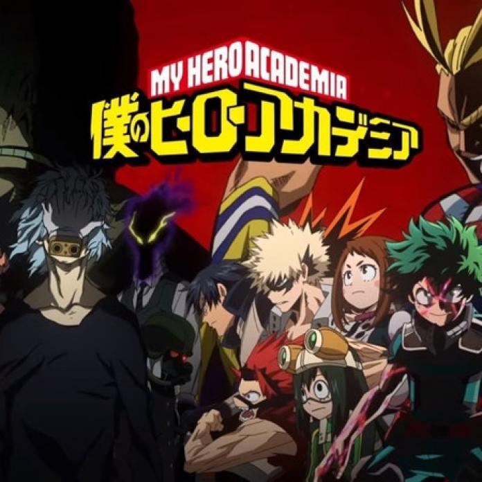 My Hero Academia Season 3, winner of the 2018 Anime Awards for Best Film, Best English VA, Best Fight Scene, Best Antagonist, and Best Boy.