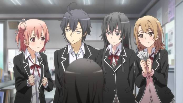 season two's four main girls