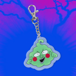 crunchyroll loves dimple keychain