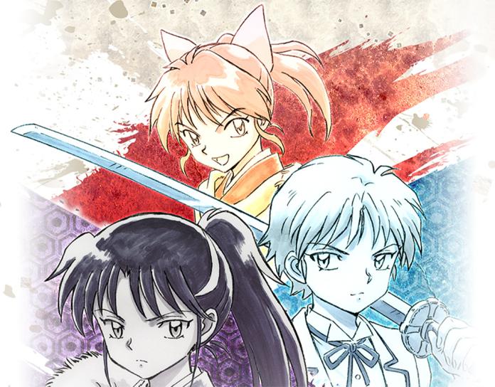 Moroha, Setsuna, and Towa from the Yashahime: Half-Demon Princess anime