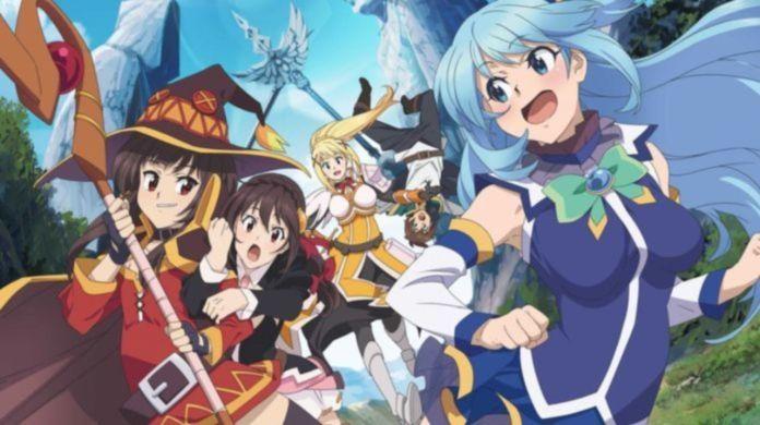 KonoSuba isekai anime