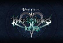 Kingdom Hearts logo for Union X and Dark Road
