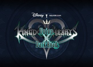 Kingdom Hearts logo for Union X and Dark Road