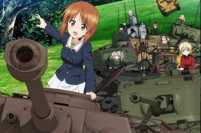 girls und panzer anime world war ii tanks