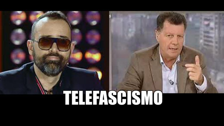 """""""Telefascismo"""". Alfonso Rojo califica así a Risto Mejide, que lo chotea vía Twitter."""