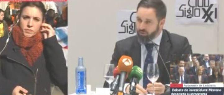 """Dardo de I. Montero a Vox: """"su patria es más Irán que España. Se han financiado a través de un brazo armado terrorista""""."""