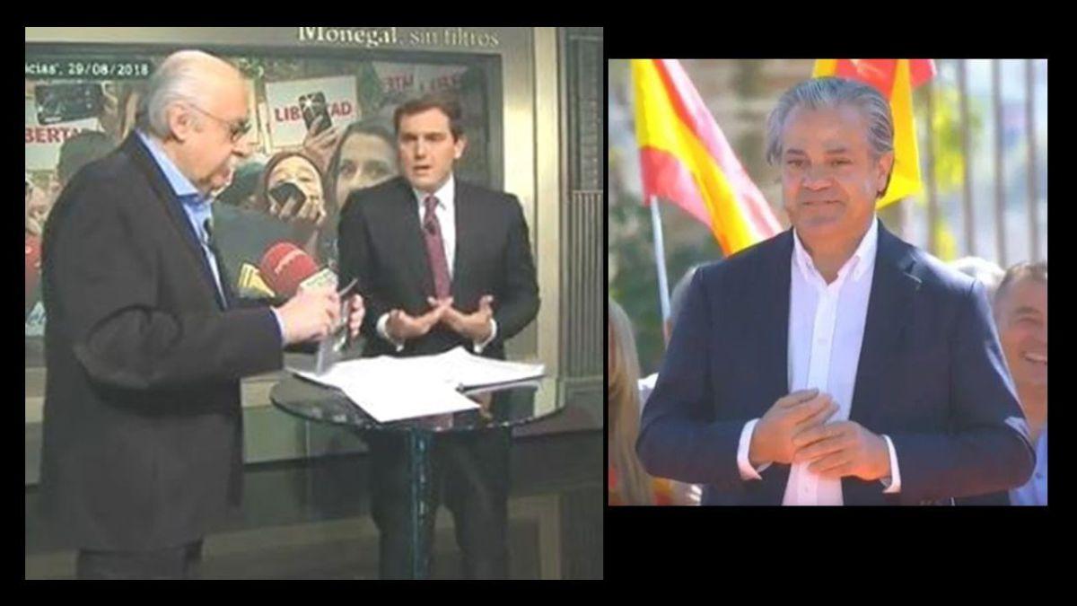 Magistral respuesta de Monegal a los insultos del nª2 de Rivera que le llamó imbécil