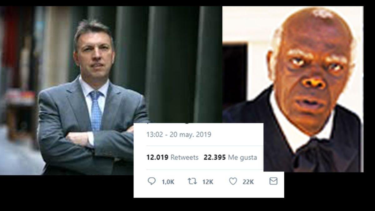 """El tuit viral del juez Bosch sobre el """"servilismo"""" del obrero de derechas"""