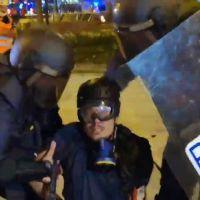 Detenido el fotógrafo de 'El País' en Albert García en Via Laietana de Barcelona