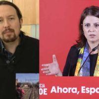VÍDEO | Barra libre a Adriana Lastra para mentir sobre Pablo Iglesias en ARV ante un Ferreras que calla y otorga