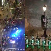 Vídeo | La policía carga en Madrid y dispara a los manifestantes de la concentración contra la sentencia del procés