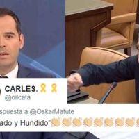 "Oskar Matute ""tumba"" a Ignacio Aguado tras agitar el fantasma del terrorismo en Twitter"