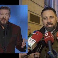 Sale mal. Abascal alaba al antifascista y antitaurino de Ricky Gervais para arremeter contra el cine español