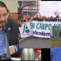 La patronal de los terratenientes 'ASAJA' organiza una protesta frente a la casa de Pablo Iglesias en Galapagar