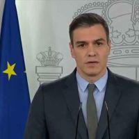 Sánchez decreta el confinamiento total de España por el virus de todas las actividades que no sean esenciales