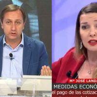 Vídeo | Rep. de los autónomos corta el discurso anti gobierno de Carlos Cuesta: «por primera vez tenemos una prestación en este país»