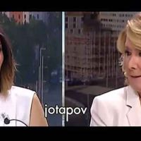 Vídeo | Aguirre llama podemita a Verónica Sanz tras preguntarle por la ciudad de justicia y se marcha de la entrevista