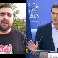 Vídeo | «Puso precio a mi libertad». Absuelto tras ser denunciado por Albert Rivera por un tuit que insinuaba el consumo de cocaína