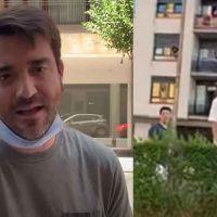 Javier Negre increpa a adolescentes en el País Vasco mientras graba contenido para su canal de Youtube