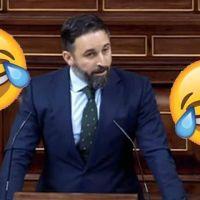 """""""¿Ya de vacaciones, campeón? Abascal se convierte en el hazmerreír de Twitter tras su """"hilo"""" sobre la moción de censura"""