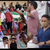 Vídeo | Abascal estuvo en la plaza de toros que va a ser investigada por incumplir las normas de prevención