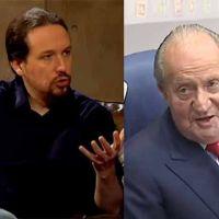 """Pablo Iglesias habla sobre la """"huida"""" del rey Juan Carlos I"""